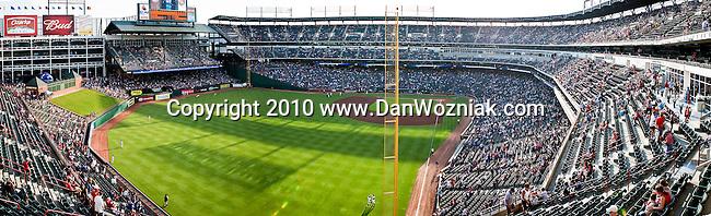 Texas Rangers Stadium-Ballpark in Arlington