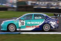 Round 10 of the 2002 British Touring Car Championship. #20 Phil Bennett (GBR). Petronas Syntium Proton. Proton Impian.