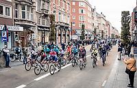 peloton roll-out in Leuven <br /> <br /> 60th De Brabantse Pijl 2020 - La Flèche Brabançonne (1.Pro)<br /> 1 day race from Leuven to Overijse (BEL/197km)<br /> <br /> ©kramon