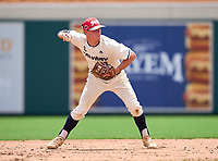 Calvary Christian Academy Eagles Johnny Lane (2) during the 42nd Annual FACA All-Star Baseball Classic on June 6, 2021 at Joker Marchant Stadium in Lakeland, Florida.  (Mike Janes/Four Seam Images)