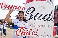 Photo before the match Argentina vs Chile corresponding to the Final of America Cup Centenary 2016, at MetLife Stadium.<br /> <br /> Foto previo al partido Argentina vs Chile cprresponidente a la Final de la Copa America Centenario USA 2016 en el Estadio MetLife , en la foto:Fans de Chile<br /> <br /> <br /> 26/06/2016/MEXSPORT/OMAR MARTINEZ