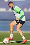 Getafe CF's David Timor during training session. October 6,2021.(ALTERPHOTOS/Acero)