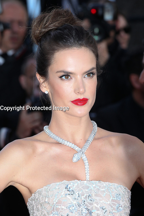 ALESSANDRA AMBROSIO - RED CARPET OF THE FILM 'THE LAST FACE' AT THE 69TH FESTIVAL OF CANNES 2016