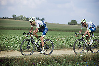 Wesley Kreder (NED/Circus Wanty Gobert) and  Boy Van Poppel (NED/Circus Wanty Gobert)<br /> <br /> Dwars Door Het Hageland 2020<br /> One Day Race: Aarschot – Diest 180km (UCI 1.1)<br /> Bingoal Cycling Cup 2020