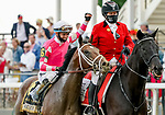 May 15, 2021: Rombauer #6, ridden by Flavien Prat, wins the Preakness Stakes on Preakness Stakes Day at Pimlico Race Course in Baltimore, Maryland. Scott Serio/Eclipse Sportswire/CSM