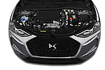 Car Stock 2019 Ds DS-3-Crossback Grand-Chic 5 Door SUV Engine  high angle detail view