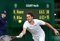 21-06-11, Tennis, England, Wimbledon, Robin Haase  Serena Williams