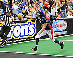 A few images from the New Orleans Voodoo vs the Georgia Force in Arena Football action.  The Force went on to defeat the Voodoo 61-35.