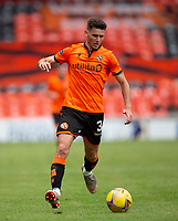 22nd August 2020; Tannadice Park, Dundee, Scotland; Scottish Premiership Football, Dundee United versus Celtic; Adrian Sporle of Dundee United comes forward on the ball