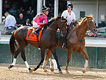 June 26,, 2021: #7 South Bend and jockey Tyler Gaffalione in the Stephen Foster Grade 2  at Churchill Downs.  Louisville, KY on June 26, 2021.  Candice Chavez/ESW/CSM