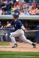 Cedar Rapids Kernels designated hitter Brett Doe (23) at bat during a game against the West Michigan Whitecaps on June 7, 2015 at Fifth Third Ballpark in Comstock Park, Michigan.  West Michigan defeated Cedar Rapids 6-2.  (Mike Janes/Four Seam Images)