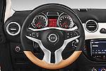 Car pictures of steering wheel view of a 2015 Opel Adam Rocks 3 Door Hatchback Steering Wheel