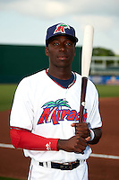 Fort Myers Miracle shortstop Nick Gordon (2) poses for a photo before a game against the Brevard County Manatees on April 13, 2016 at Hammond Stadium in Fort Myers, Florida.  Fort Myers defeated Brevard County 3-0.  (Mike Janes/Four Seam Images)