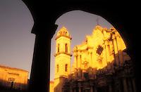 Cuba, Havana. Catedral de San Cristobal de La Haban