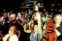 The audience responds to Otis Clay as he performs at the Ponderosa Stomp in New Orleans, Tues., April 28, 2009.