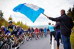 Picture by Shaun Flannery/SWpix.com - 28/04/2017 - Cycling - 2017 Tour de Yorkshire - Stage 1 - Bridlington to Scarborough<br /> <br /> Cote de Garrowby Hill