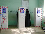 KIFRI, IRAQ: Women vote in Kifri...On March 7th, 2010, Iraq held nationwide parliamentary elections.