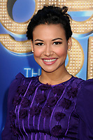 "13 July 2020 - Naya Rivera, the actress best known for playing cheerleader Santana Lopez on Glee, has been confirmed dead. Rivera, 33, is believed to have drowned while swimming in the lake with her 4-year-old son, who was found asleep on their rental pontoon boat after it was overdue for return. 6 August 2011 - Westwood, California - Naya Rivera. ""Glee: The 3D Concert Movie"" Los Angeles Premiere held at the Regency Village Theatre. Photo Credit: Byron Purvis/AdMedia"