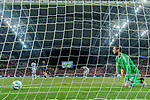 Bayern Munich Goalkeeper Tom Starke (R) looks to FC Internazionale Forward Eder Citadin Martins (H) celebrating his goal during the International Champions Cup match between FC Bayern and FC Internazionale at National Stadium on July 27, 2017 in Singapore. Photo by Marcio Rodrigo Machado / Power Sport Images