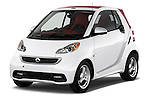 Front three quarter view of a 2013 Smart For Two Cabriolet