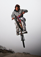 When the first day of above freezing temperatures appeared in 2010 skaters and bikers appeared at the Westerville Skate Park for some enjoyable time in warmer temperatures..