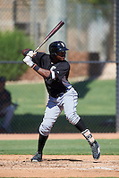 Chicago White Sox Micker Adolfo (45) during an Instructional League game against the San Francisco Giants on October 10, 2016 at the Camelback Ranch Complex in Glendale, Arizona.  (Mike Janes/Four Seam Images)
