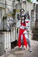 Battleborn Ambra Cosplay, Pax Prime 2015, Seattle, Washington State, WA, America, USA.