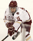 JD Dudek (BC - 15) - The Boston College Eagles defeated the visiting Providence College Friars 3-1 on Friday, October 28, 2016, at Kelley Rink in Conte Forum in Chestnut Hill, Massachusetts.The Boston College Eagles defeated the visiting Providence College Friars 3-1 on Friday, October 28, 2016, at Kelley Rink in Conte Forum in Chestnut Hill, Massachusetts.