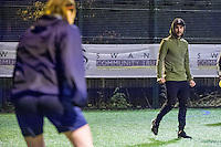 Wednesday 08 February 2017<br /> Pictured: Mark Birighitti<br /> Re: Premier League Kicks event at Baglan Boys and girls Club, Port Talbot, Wales UK
