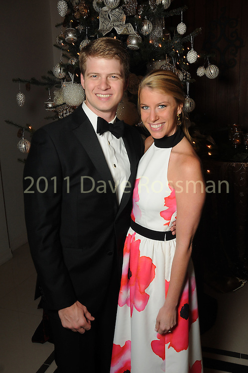 Paul Lumpkins and Presley Bourquein at the 27th annual Trees of Hope Holiday Gala at The Citadel on Kirby Friday Oct. 04,2016.(Dave Rossman photo)