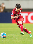 Zheng Zhiyun of Shanghai SIPG FC in action during their AFC Champions League 2017 Playoff Stage match between Shanghai SIPG FC (CHN) and Sukhothai FC (THA) at the Shanghai Stadium, on 07 February 2017 in Shanghai, China. Photo by Marcio Rodrigo Machado / Power Sport Images