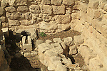 Remains from the Byzantine period at Ramat Rachel Archaeological Garden