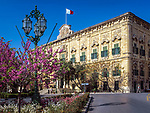 Malta, Valetta: Auberge de Castille, León et Portugal - Sitz des Premierministers | Malta, Valetta: Auberge de Castille, León et Portugal - Prime Minister's office