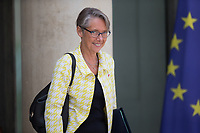 French Transports Minister Elisabeth Borne leaves the Elysee presidential palace following the weekly cabinet meeting on Wednesday, 28 June 2017 in Paris # CONSEIL DES MINISTRES DU 28/06/2017