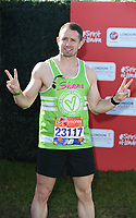 Shane Williams<br /> at the start of the 2018 London Marathon, Greenwich, London<br /> <br /> ©Ash Knotek  D3397  22/04/2018