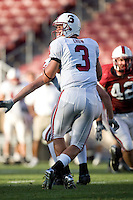 12 April 2007: L.D. Crow during Stanford's Spring Game at Stanford Stadium in Stanford, CA.
