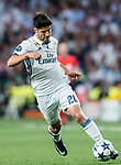 Marco Asensio Willemsen of Real Madrid in action during their 2016-17 UEFA Champions League Semifinals 1st leg match between Real Madrid and Atletico de Madrid at the Estadio Santiago Bernabeu on 02 May 2017 in Madrid, Spain. Photo by Diego Gonzalez Souto / Power Sport Images
