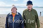 Enjoying a stroll in Ballyheigue beach on Saturday, l to r: Eileen and Michael Cahill from Ballyheigue.