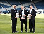 Stewart Regan, Alan McRae and Campbell Ogilvie