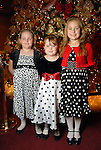 From left: Emillee Denton,7, Raylee Clark,6, and Kaydee Denton.9, at the opening night of The Nutcracker at the Wortham Theater Friday Nov. 27,2009. (Dave Rossman/For the Chronicle)
