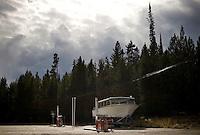 Near Jackson Lake - Yellowstone National Park