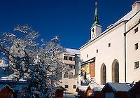 Kirche auf der Festung in Salzburg, Österreich