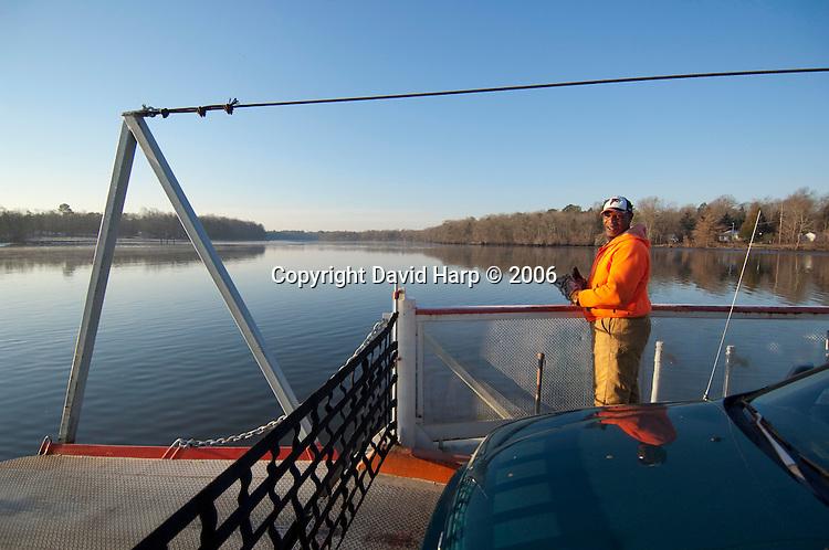 Nanticoke River, Oystering, Harry and Paula Insley