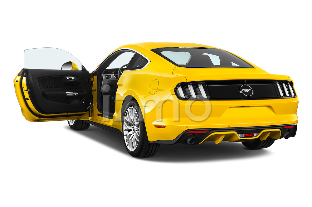 Car images of 2016 Ford Mustang EcoBoost 2 Door Coupe Doors
