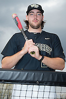 Will Craig (22) of the Wake Forest Demon Deacons poses for a photo prior to the game against the Clemson Tigers at David F. Couch Ballpark on March 12, 2016 in Winston-Salem, North Carolina.  The Tigers defeated the Demon Deacons 6-5.  (Brian Westerholt/Four Seam Images)