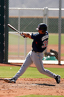 Bo Greenwell - Cleveland Indians 2009 Instructional League. .Photo by:  Bill Mitchell/Four Seam Images..