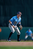 Tampa Bay Rays shortstop Jake Cronenworth (81) during a Grapefruit League Spring Training game against the Baltimore Orioles on March 1, 2019 at Ed Smith Stadium in Sarasota, Florida.  Rays defeated the Orioles 10-5.  (Mike Janes/Four Seam Images)
