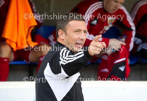 St Johnstone v Bristol City....28.07.12  Pre-Season Friendly.Derek McInnes back at McDiarmid Park.Picture by Graeme Hart..Copyright Perthshire Picture Agency.Tel: 01738 623350  Mobile: 07990 594431