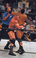 Brock Lesnar The Rock  2003                                              By John Barrett/PHOTOlink