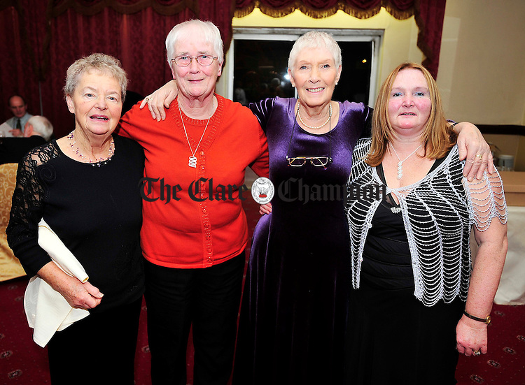 L-R Deirdre O'Donnell, Bea O'Shea, Nora Sheils and Pauline Cronin.Pic Arthur Ellis.